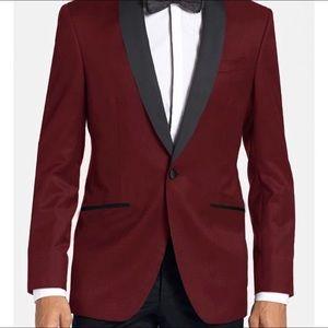 Other - Burgundy tuxedo
